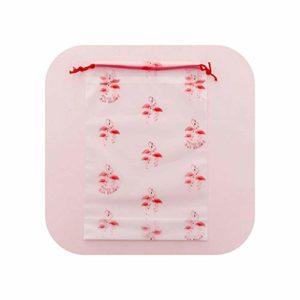 Voyage sac cosmétique |Transparent Gommage Cosmétique Sac Voyage Maquillage Cas Femmes String Maquillage Organisateur De Bain Pochette De Rangement Toilette Lavage Beau-rose-L