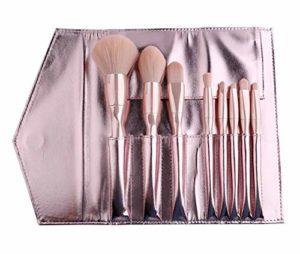 WAVENI Pinceau de Maquillage Set Brosses synthétiques Fond de Teint Poudre Premium Correcteurs Ombres à paupières Make Up Kit Brosses