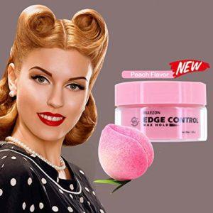Yiwa Unisexe Pommade Cheveux Crème Coiffante Cire Solide Saveur De Pêche Durable Hydratant Crème Pour Les Cheveux Anti-Frisottis Gel Fixatif
