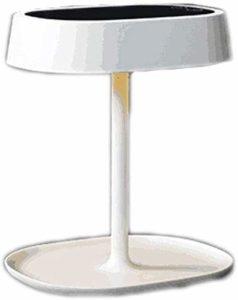 Aycpg Miroir de Maquillage Miroir de Maquillage LED Lampe de Table de Mode de Miroir de Table Lampe de Table Pliable, portatif, Princesse (Color : White)
