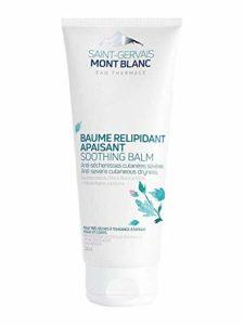 Baume Corps Relipidant Apaisant – Eau thermale et Mauve alpin BIO calmant – peaux sèches à tendance atopiques – 200ml – Saint-Gervais Mont Blanc
