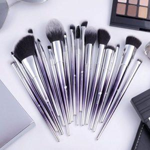 DUcare Pinceau de maquillage Professional 17pcs Maquillage Set de brosse Maquillage Kit de Toilette Set de Brosse