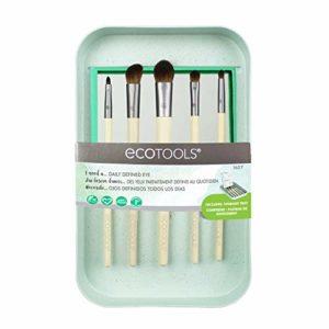 EcoTools Ensemble de maquillage Ombre à paupières de jour haute définition avec plateau de rangement