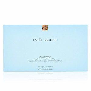 Estee Lauder 855-RNJJ Double Wear Lingettes Démaquillantes Maquillage Longue Tenue 45 Pièces