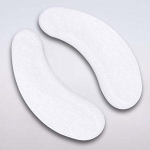 Extension de Cils Tampons Oculaires Gel Pads Yeux Gel Patchs sans Peluche Mince Rose – 100