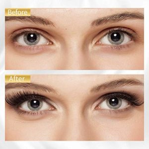 Eyeliner Magnétique, Faux Cils Magnétique, Magnetic Eyeliner Kit de Cils Magnétiques, 3D Réutilisables Sans Colle Faux Cils Naturels, Faux Cils Magnétiques Magnetic Eyeliner Avec Tweezer
