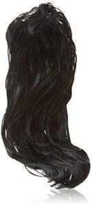 Hair By MissTresses Noir Cheveux chouchous élastique Ponytailors Elastiques–Lot de 3