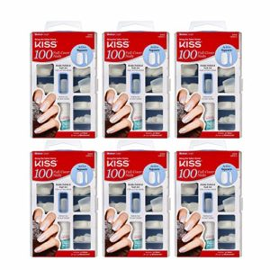 Kiss 100complet pour ongles Active carré