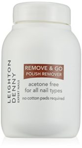 Leighton Denny Dissolvant à Vernis à Ongles Remove and Go 60 ml