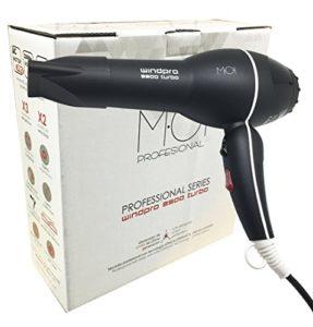 Moi Moises Sèche-cheveux Windpro 3900 Ionic Turbo 2200 W Professional Series M·O·I Professionnel 1 pièce 990 g