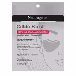 Neutrogena Cellular Boost Masque pour les yeux sans parfum pour un contour des yeux visiblement plus lisse, rafraîchi