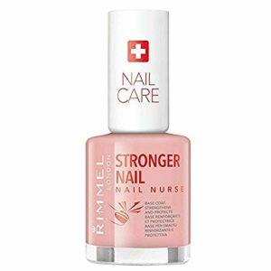 Rimmel – Vernis à Ongles Soin Nail Nurse – Base renforçante et protectrice – Formule enrichie en vitamine C – 12ml