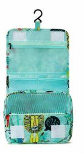 Trousse de Toilette de Voyage Pliable, Tuscall étanche Voyage Cosmétique Sac Grande Capacité Organisateur pour Gymnastique Business et Vacance, avec Crochet et poignée (Animal – 1)