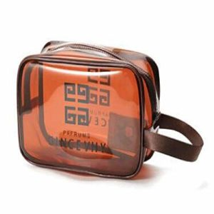 Voyage Sac cosmétique Portable Transparent Sac de Lavage Bain de Plage Sac de Rangement imperméable Sac Gommage Sac cosmétique