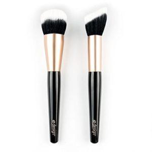 aDesign Professional Lot de 2 pinceaux de maquillage – Detail Face Power Duo