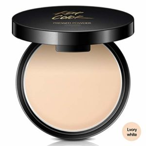 allbesta visage poudre Concealer Compact Powder Base Maquillage Fond De Teint Poudre Compacte Camouflage Fixing minérale
