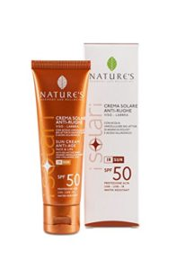 BIOS Line Nature's les solaires Crème solaire Anti-Rughe visage Lèvres 50ml
