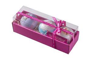 Bomb Cosmetics – Coffret cadeau de luxe – 3 boules de bain