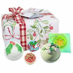 Bomb Cosmetics Lot de 5 cadeaux emballés à la main pour baignoire et corps 480 g
