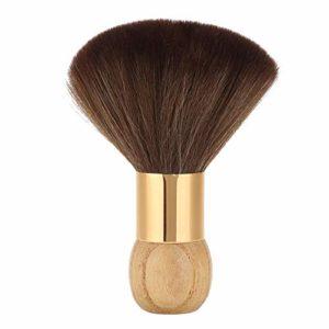 Brosse de Plumeau de Visage de Cou de Coiffeur Brosse à Cheveux de Nettoyage Doux Brosse à Cheveux de Nettoyage Douce Brosse de Balayage de Cheveux Courts
