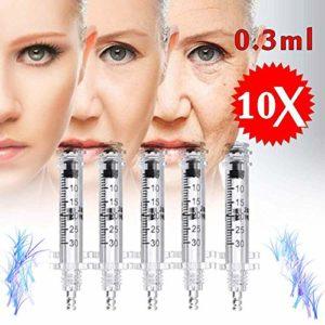CAREXY Hyaluronic Pen Massage Atomizer Pen Kit pour Lifting Lips Soins De La Peau Anti-Rides Restaurer La Peau élastique pour Le Lifting des Lèvres,A