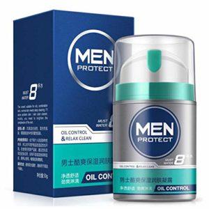 CawBing Gel Hydratant Visage Homme Contrôle Hydratant Raffermissant Gel Hydratant Anti-Séchage Peau