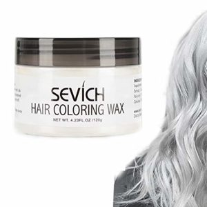 cire à cheveux de couleur – boue de teinture de style de cheveux sevich, couleur de cheveux naturelle instantanément, ingrédients naturels lavables, temporaire 100g / 3,57Oz