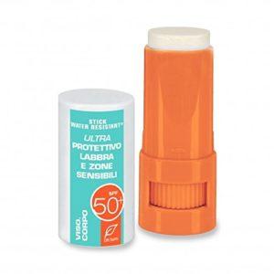 Dr. Taffi Clé Super Monoi or Big soleil SPF50pour lèvres et peau sensible Zones–8ml