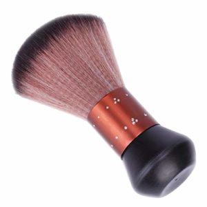 Fenteer Balai à Cou Brosse de Nuque de Coiffure Nettoyage pour Coupe Cheveux Accessoire Salon de Coiffure Professionnel