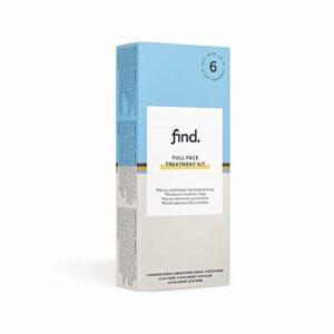FIND – Boîte complète de soins pour le visage, 6 paquets de 15ml