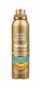 Garnier Ambre Solaire, Natural Bronzer, Brume Bronzante, Corps, 150 mL