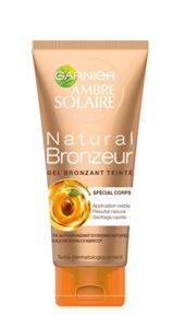 Garnier Ambre Solaire – Natural Bronzer – Gel Bronzant Teinté – Corps – 150 mL