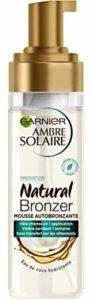 Garnier Ambre Solaire – Natural Bronzer – Mousse Bronzante – Corps et Visage – 200 mL
