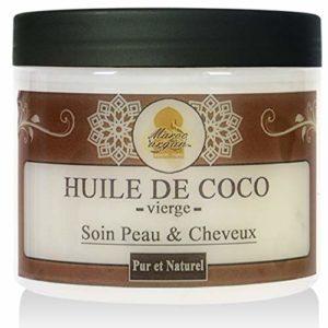 Huile Végétale De Coco Pure et Naturelle – Soin Cheveux, Peau Visage et Corps – 200ml