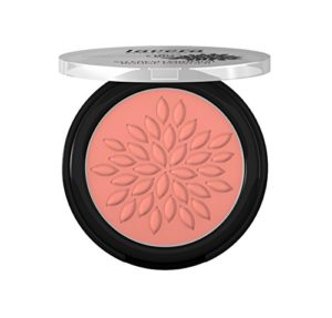 lavera Rouge poudre – So Fresh Mineral Rouge Powder Charming Rose 01 – donne une teinte fraîche – Cosmétiques naturels – Make up – Ingrédients végétaux bio – 100% Naturel Maquillage (4,5 g)