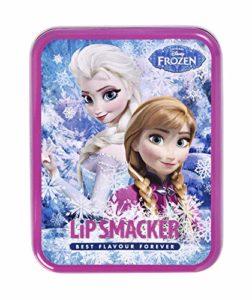 Lip Smacker Boîte Métal Reine des Neiges – Baumes à Lèvres 6 Pièces