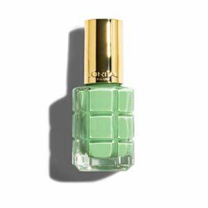 L'Oréal Paris Color Riche de couleur Vernis à ongles, enrichi à l'huile huiles précieuses, B01Pistache royale