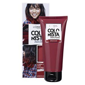 L'Oréal Paris Colorista Washout 2 Semaines Couleur Temporaire pour Cheveux Rouge