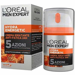 MEN EXPERT HYDRA ENERGETIC – Soin Hydratant Anti-Fatigue Longue Durée