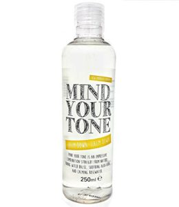 Mind Your Tone – Tonifiant à l'hamamélis, à l'aloès et à l'eau de rose – 250 ml – pourquoile visage | Naturellement astringent – un tonique naturel fabuleux pour les peaux normales à grasses / mixtes | un effet tonifiant et raffermissant naturel sur la peau