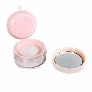 Minkissy vide en plastique en vrac poudre compacte conteneur bricolage maquillage réutilisable poudre stockage boîte de stockage