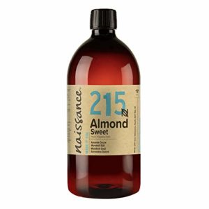 Naissance Huile d'Amande Douce (n° 215) – 1 litre – 100% naturelle, végan, sans OGM – inodore, parfaite pour les massages, les cheveux et la peau