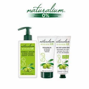 naturalium Pack Olive soin corporelle Kit Corporel 2 blanc