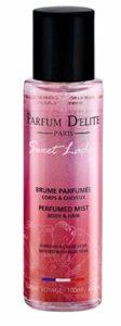PARFUM D'ELITE PARIS – Sweet Lady – Brume Parfumée Corps & Cheveux – Produit de Beauté Pour Femme, Longue Tenue, Format Voyage 100 ml