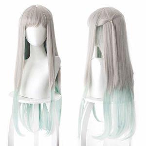 Perruque Toilet-Bound Hanako-Kun Cosplay Anime, avec Filet de Cheveux Gratuit (Perruque Nene Yashiro)