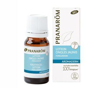 Pranarôm – Aromaderm – Lotion Ongles Jaunis Bio Eco – Ongles Fragilisés Et Abimés – 10 ml