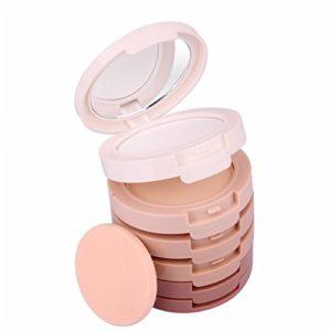 Pure Vie® 5 Couleurs Palette de Maquillage Poudre pour le Visage Correcteur Camouflage Cosmétique Set – Convient Parfaitement pour une Utilisation Professionnelle ou à la Maison