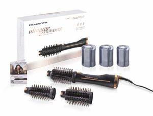 Rowenta·Ultimate·Experience Brosse soufflante 2 en 1 Rotative Sèche et met en forme les cheveux 3 brosses pour tous types de cheveuxRéduit l'électricité statique et les frisottis CF9620F0