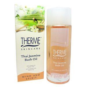 Therme Skincare Thai Jasmine Bath Oil huile bain corps soin de la peau 100ml