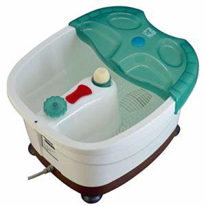 Tout en un Baignoire de spa de pieds,Automatique Massage Bain de pieds,Foot spa bath Tremper Avec la chaleur Pied pedicure Seau Bulles Vibration Pied bassin-A